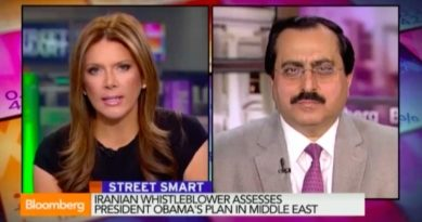 Interview of Alireza Jafarzadeh, with Trish Regan of Bloomberg TV