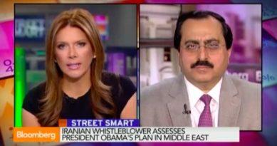 Interview of Alireza Jafarzadeh, with Trish Regan of Bloomberg TV