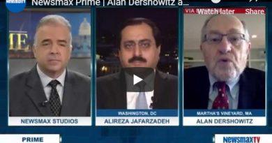 Newsmax Prime | Alan Dershowitz and Alireza Jafarzadeh discuss the Iranian nuclear deal